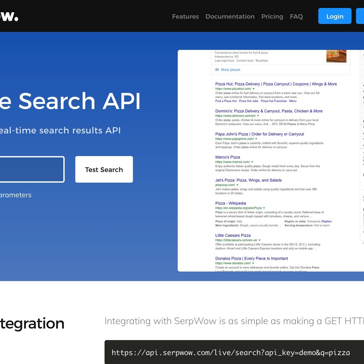 SerpWow com - Google Search Results API Alternatives and