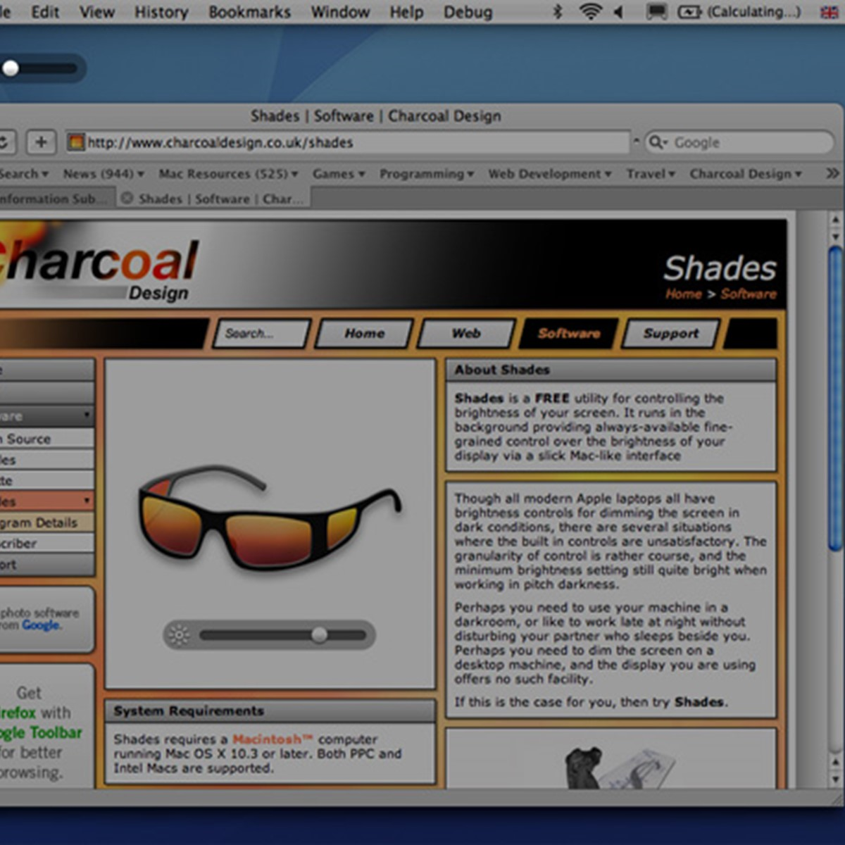 shades alternatives and similar software alternativeto net