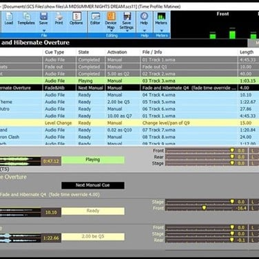 Show Cue System Alternatives and Similar Software