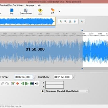 Simple MP3 Cutter Joiner Editor Alternatives and Similar Software