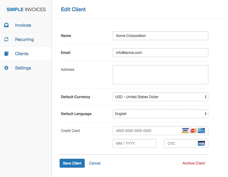 simple invoices alternatives - alternativeto, Invoice examples