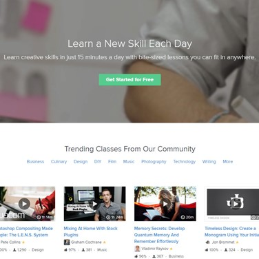 SkillShare Alternatives and Similar Software - AlternativeTo net