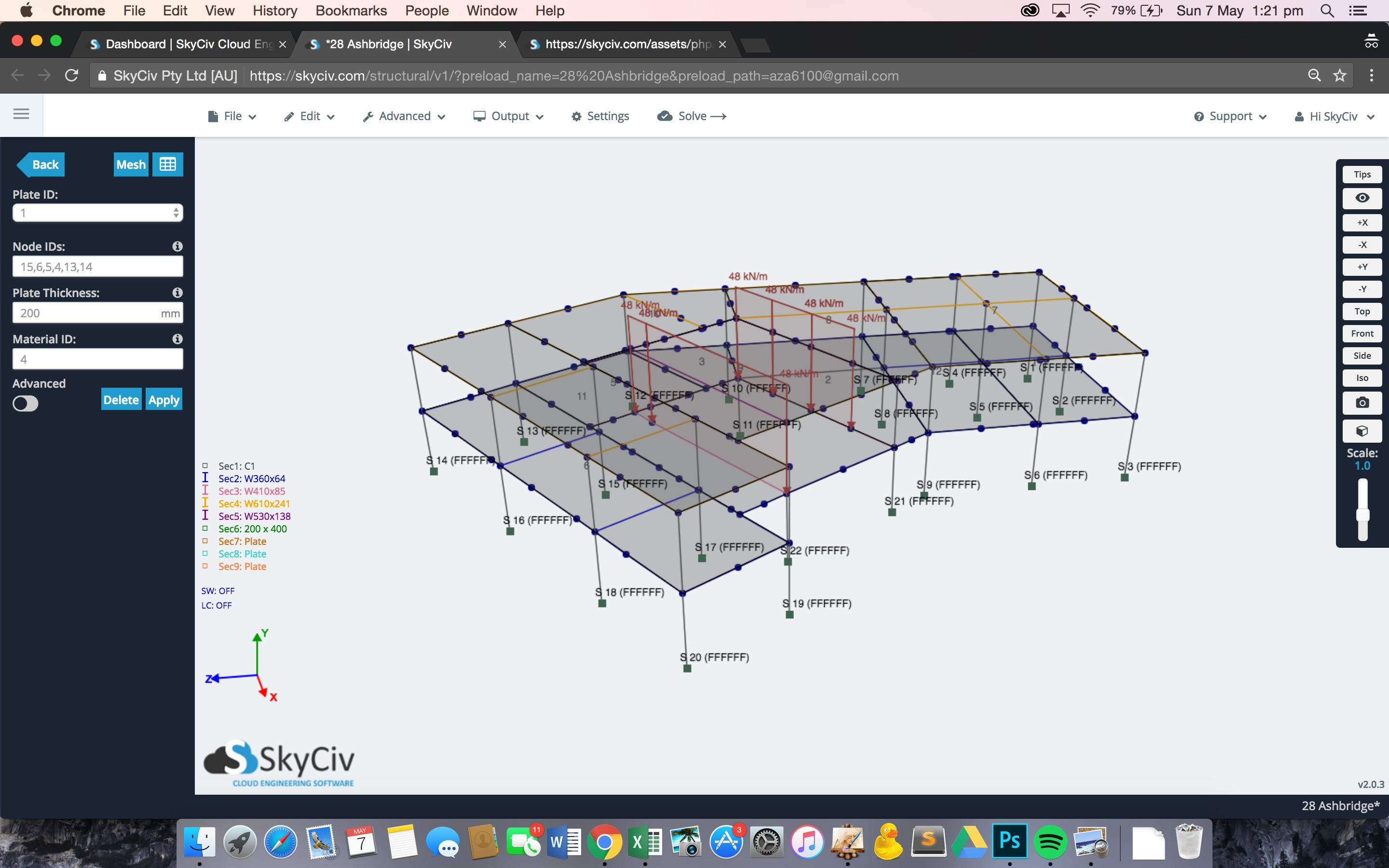 Free Etabs Alternatives for Mac tagged with Structural Analysis