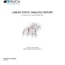 Contents page of Structural Analysis Report - custom logo on Enterprise