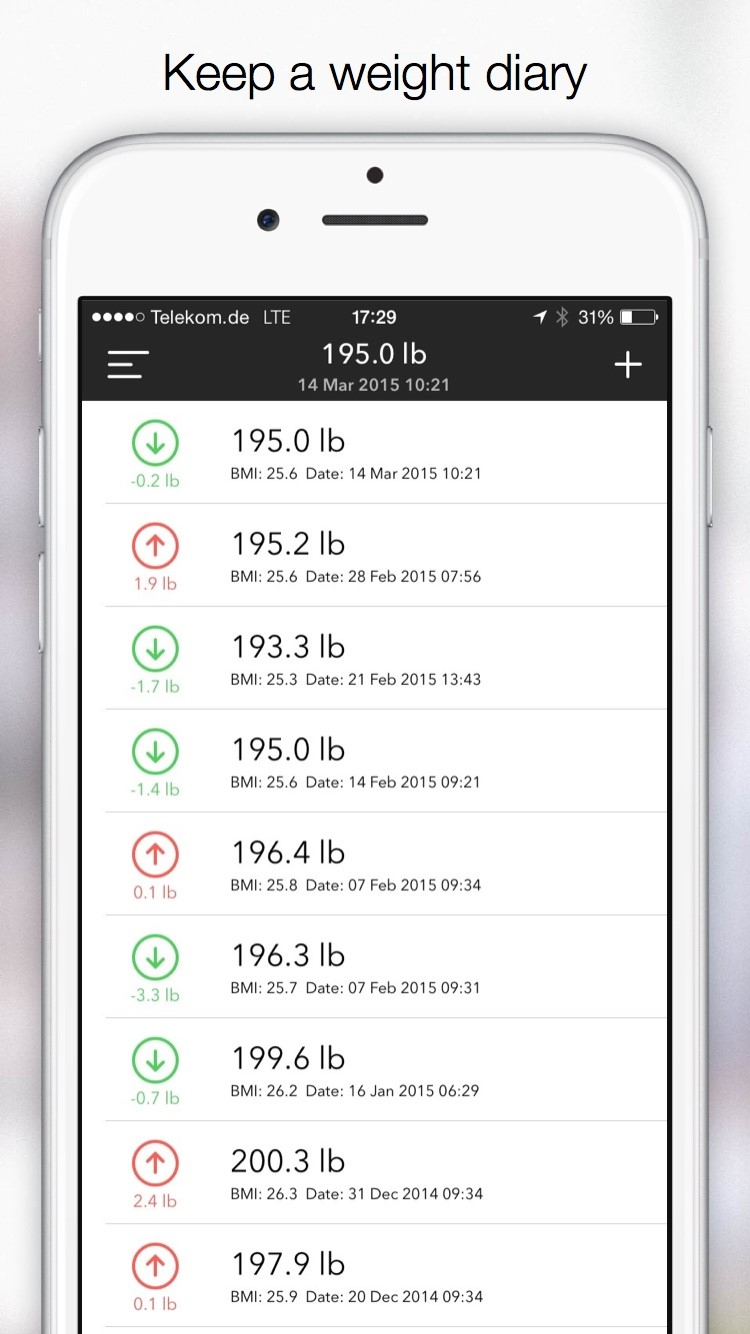 slim weight and bmi tracker alternatives and similar apps