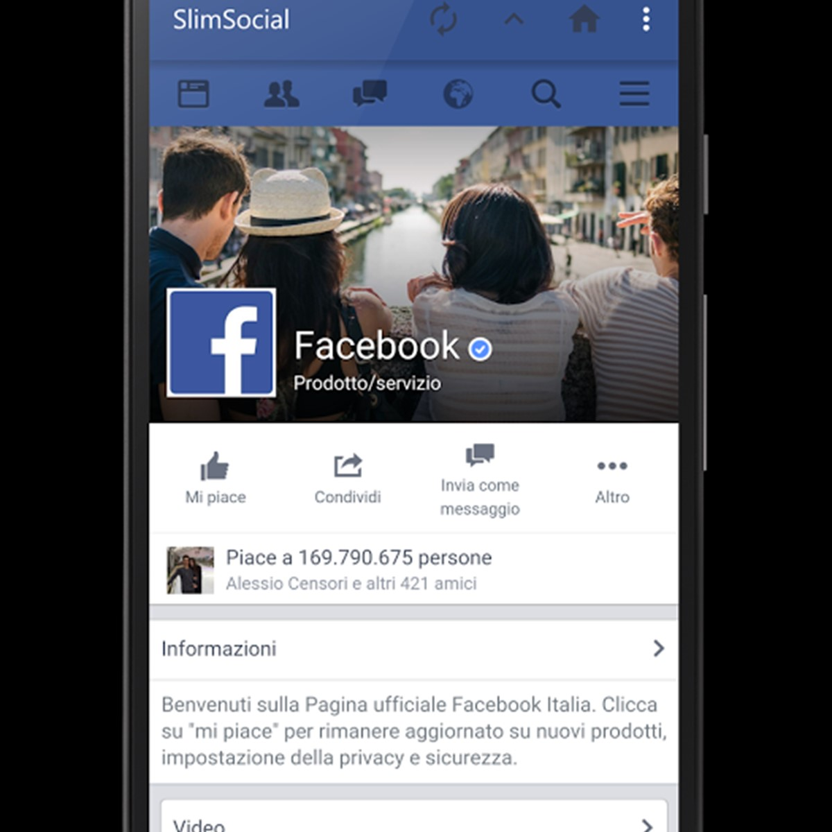 SlimSocial for Facebook Alternatives and Similar Apps