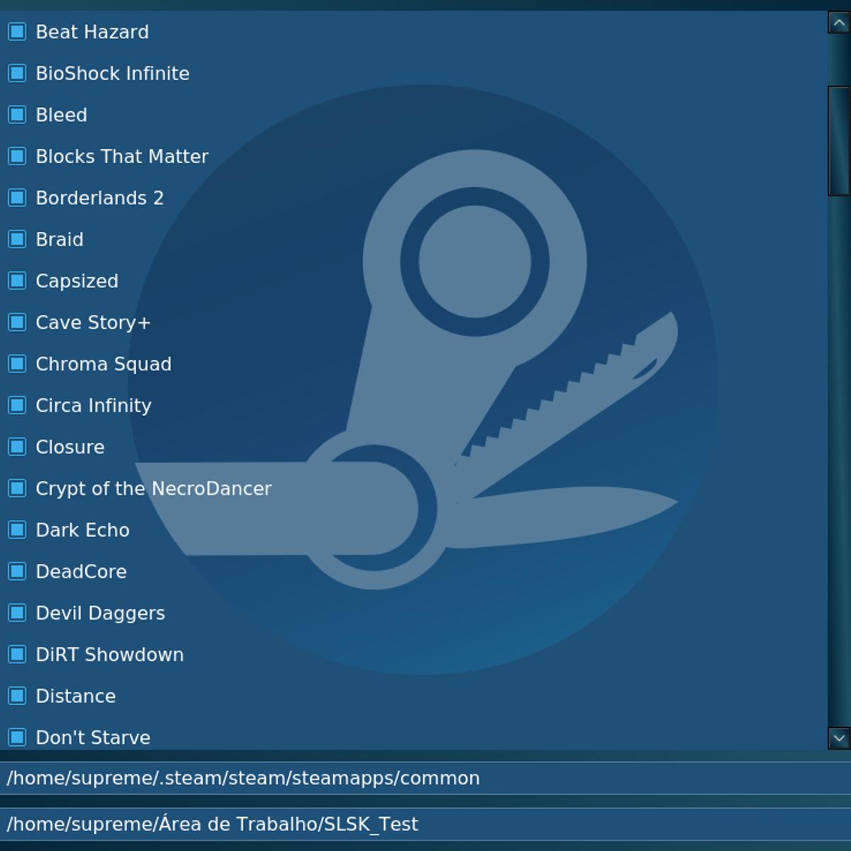 SLSK (Steam Linux Swiss Knife) Alternatives and Similar