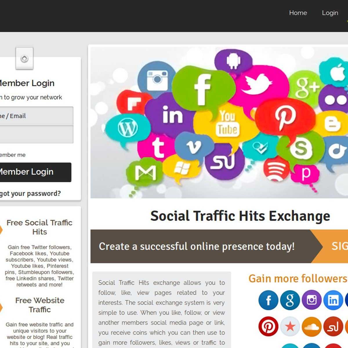 Social Traffic Hits Alternatives and Similar Websites and Apps