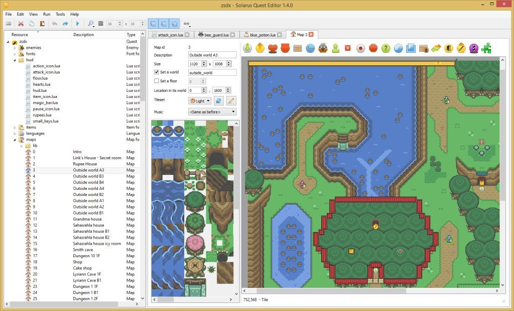 Solarus action rpg game engine alternatives and similar games map editor gumiabroncs Gallery