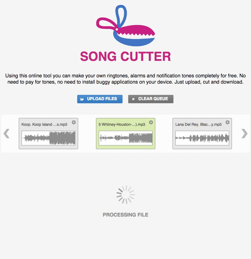 Its Possible To Update The Information On Song Cutter And Ringtone Maker Or Report It As Discontinued Duplicated Or Spam