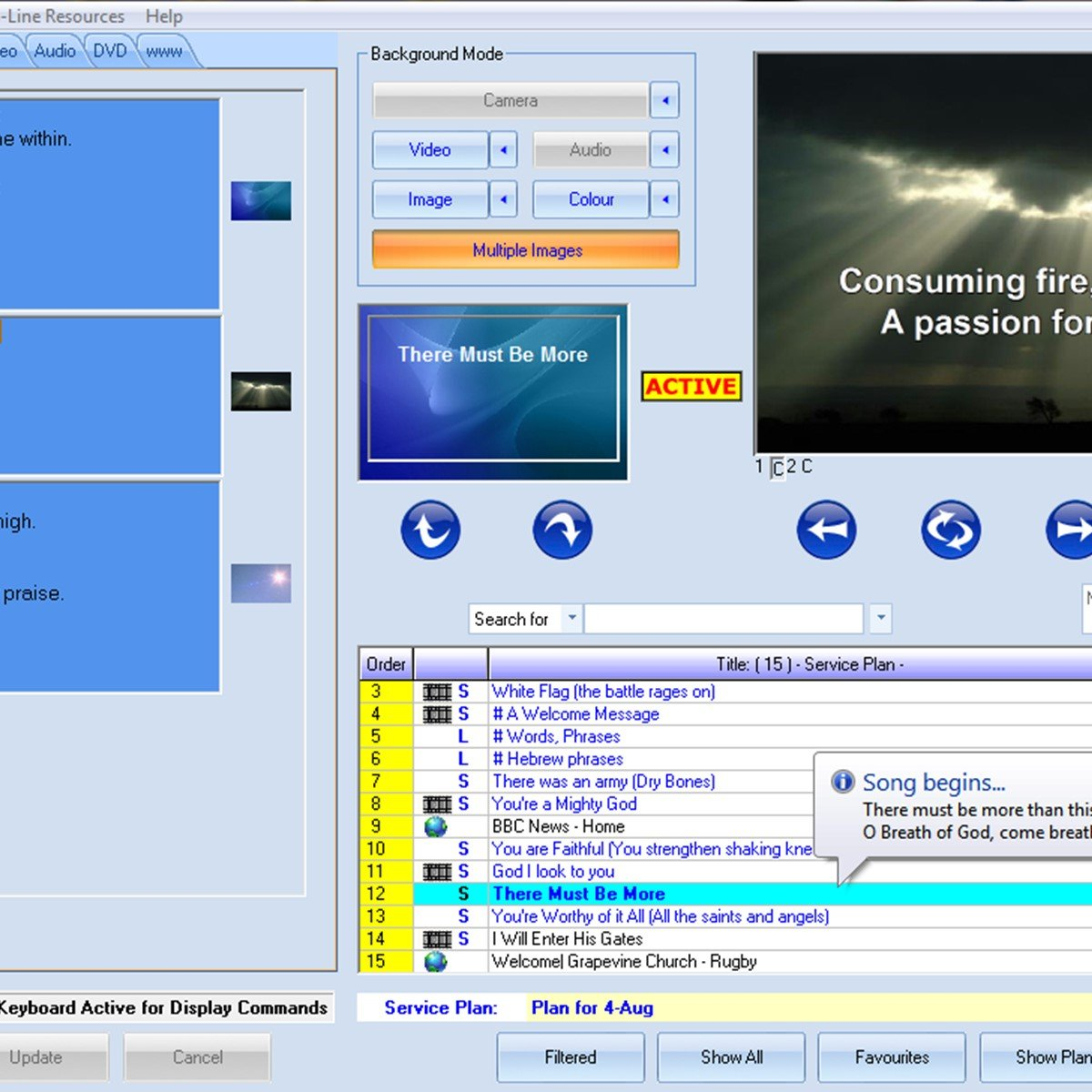 Church presentation software, free download for mac