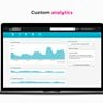 Custom analytics icon