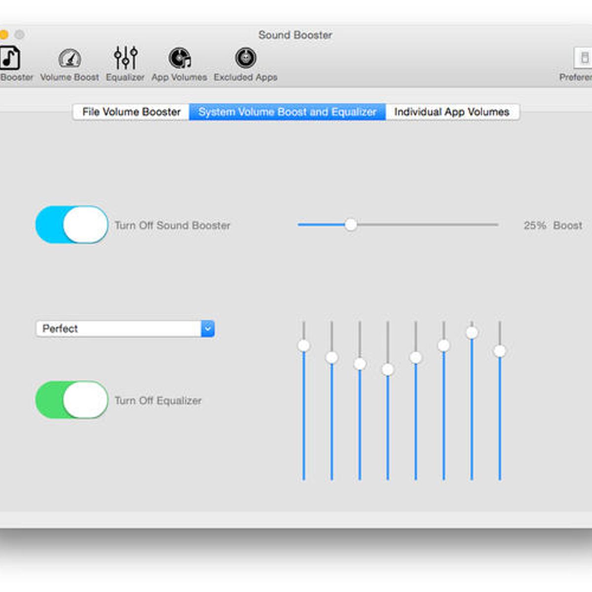 sound booster alternatives and similar software. Black Bedroom Furniture Sets. Home Design Ideas