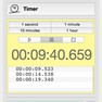 Timing - unlimited stopwatches and timers on your desktop [OS X, macOS platform] icon