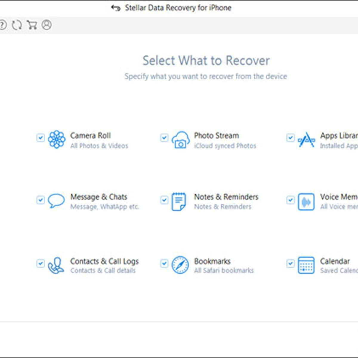 Stellar Data Recovery for iPhone Alternatives and Similar Software