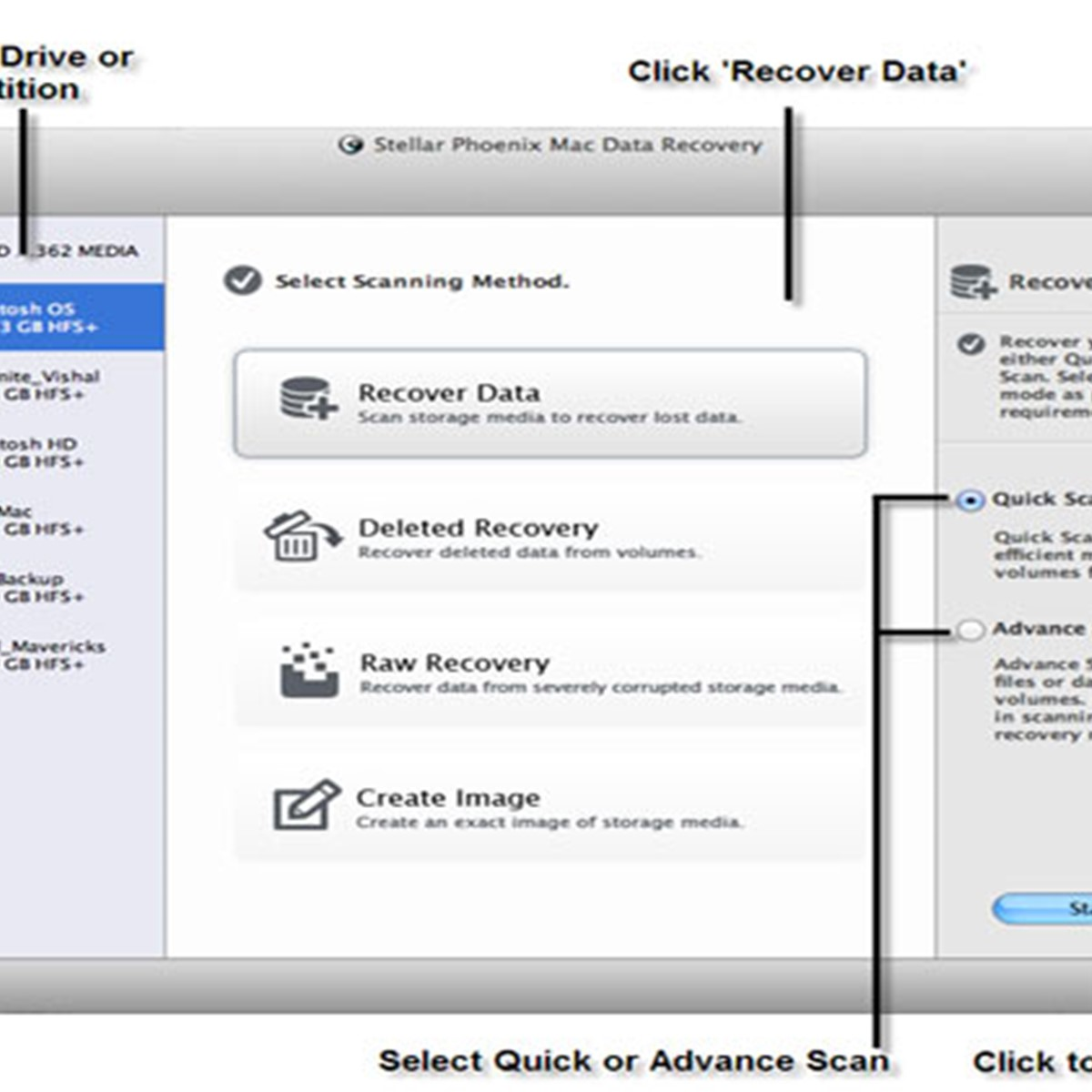 Stellar Phoenix Mac Data Recovery Alternatives and Similar