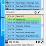 The preview window can be customized to inform about streams and schedules.