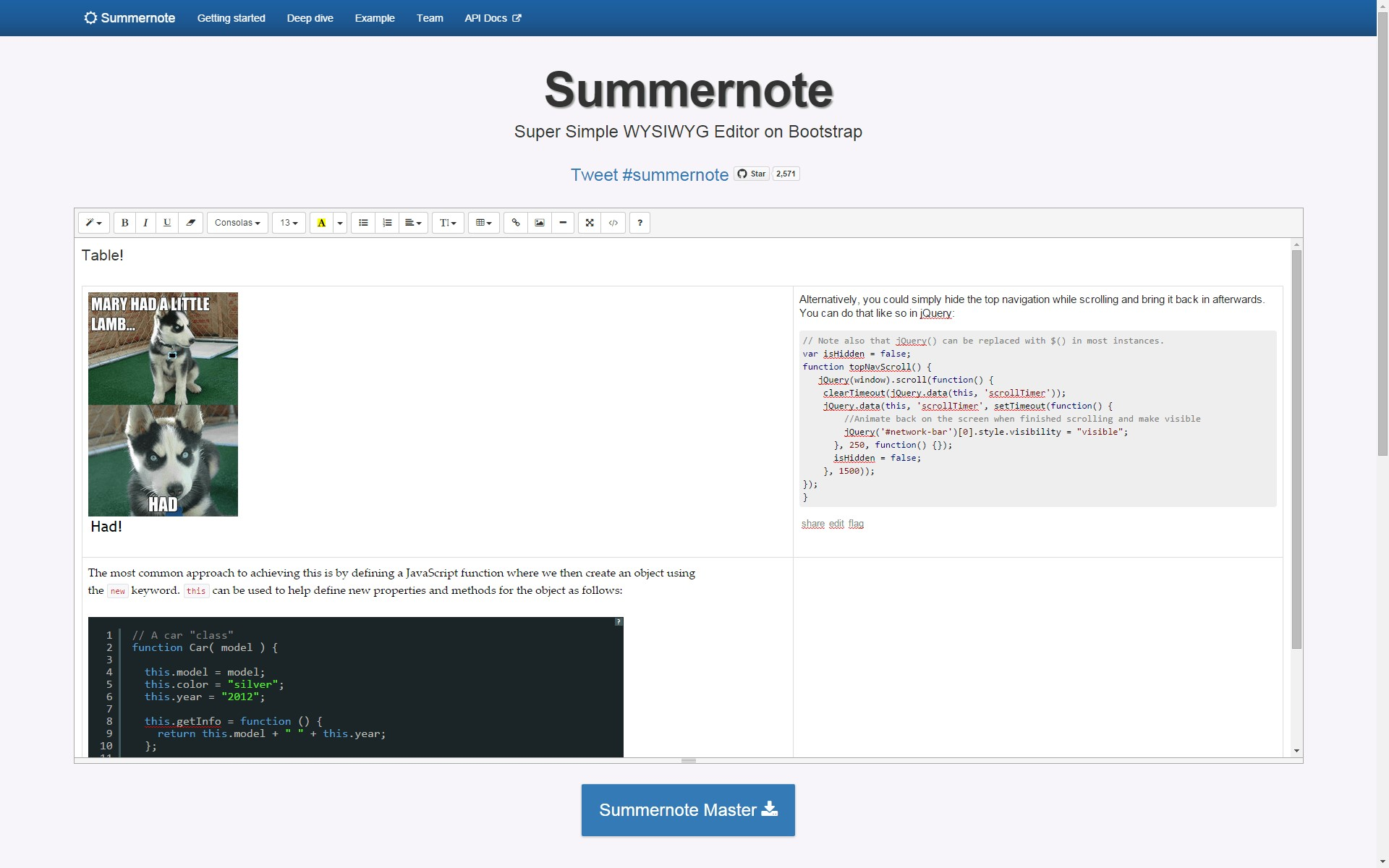 Summernote Alternatives and Similar Websites and Apps