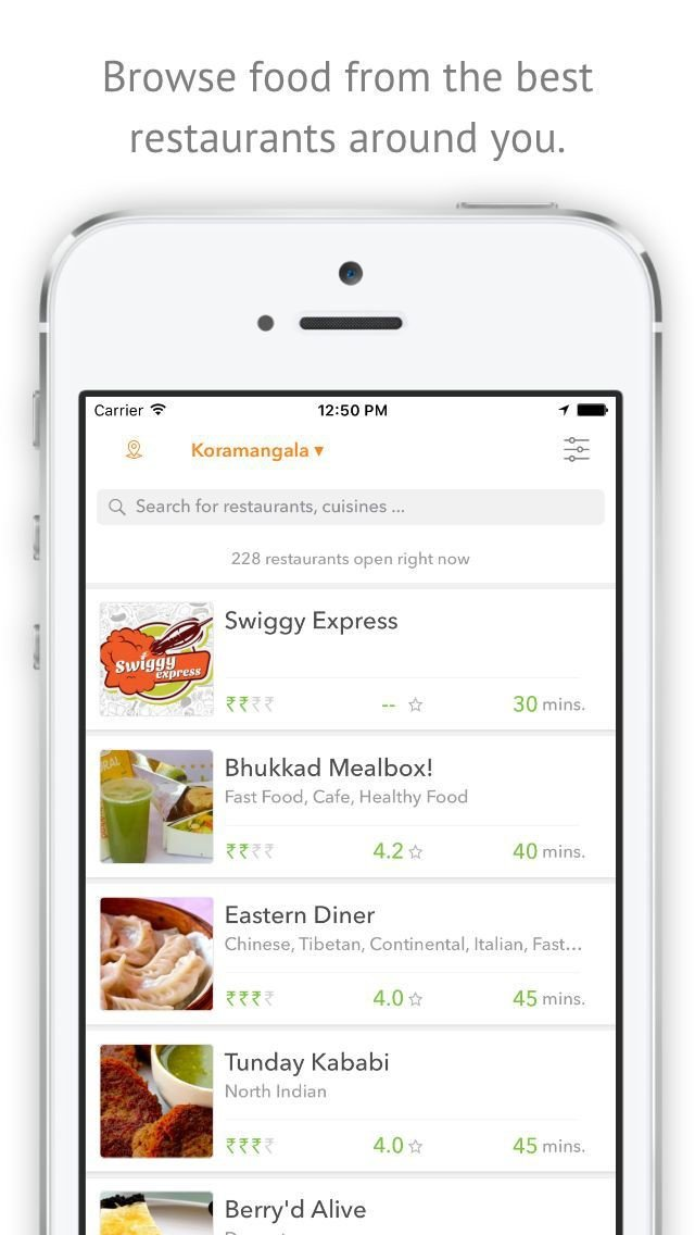 Swiggy Food Order Amp Delivery Alternatives And Similar Apps