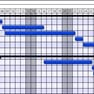 Example project GANTT chart icon