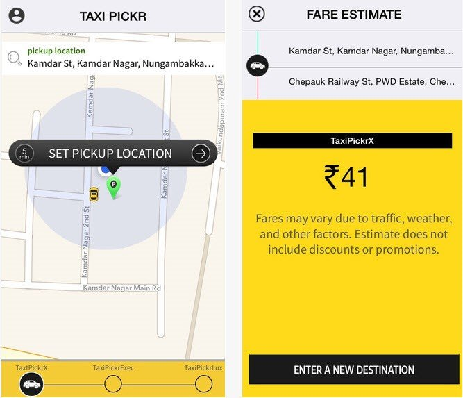 Taxi Pickr - Uber Clone Script Alternatives and Similar Apps and