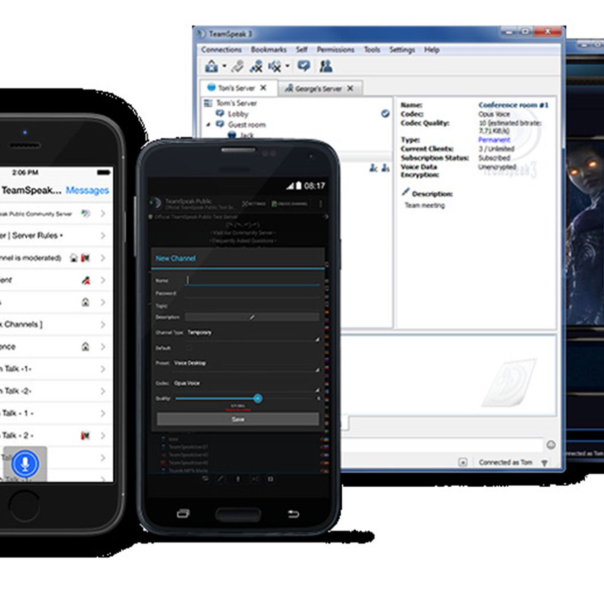 teamspeak app android free