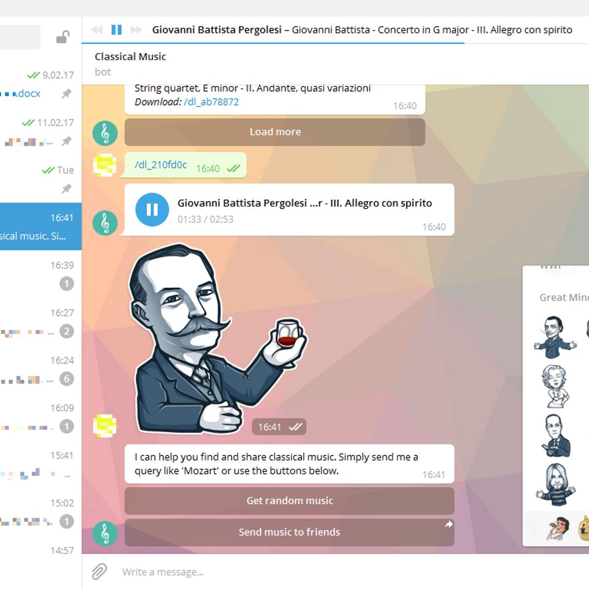 Telegram Alternatives for Windows S - AlternativeTo net