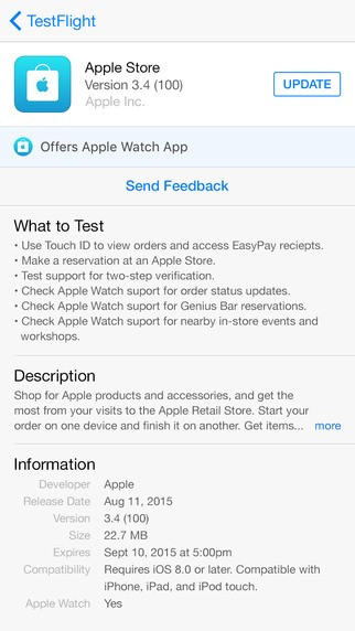 Testflight alternatives and similar software alternativeto its possible to update the information on testflight or report it as discontinued duplicated or spam stopboris Choice Image