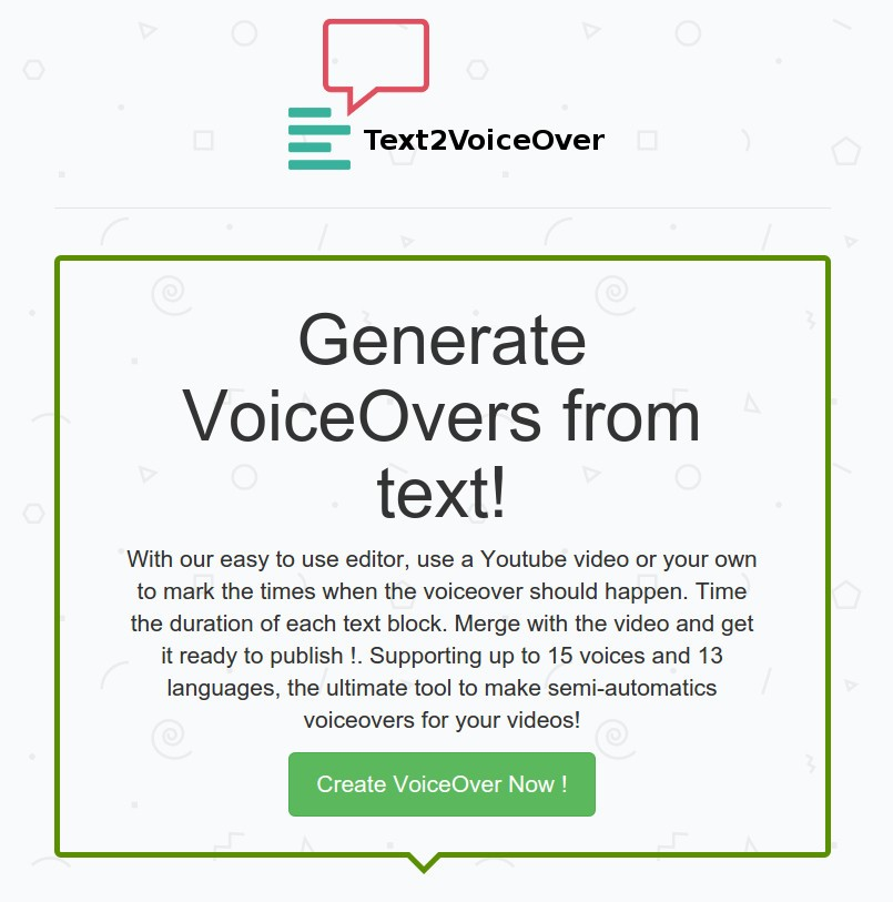 Text2VoiceOver Alternatives and Similar Software