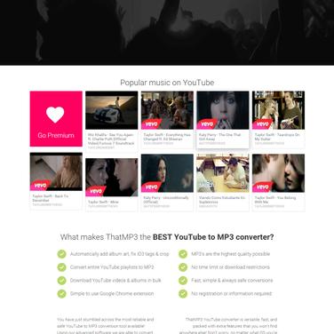 ThatMP3 Alternatives and Similar Websites and Apps - AlternativeTo net