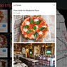 Details view, allowing you zoom in and see what each restaurant has to offer. icon