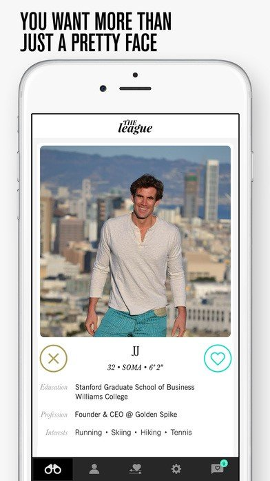 the league dating app ceo