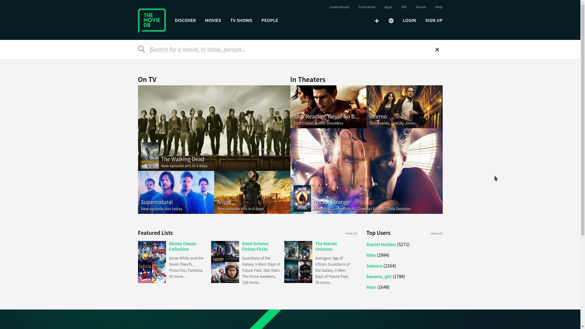 themoviedb org Alternatives and Similar Websites and Apps
