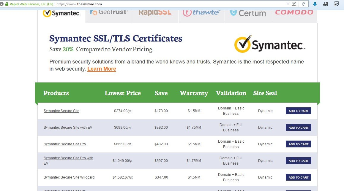 The SSL Store™ Alternatives and Similar Software
