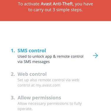 avast anti theft track phone