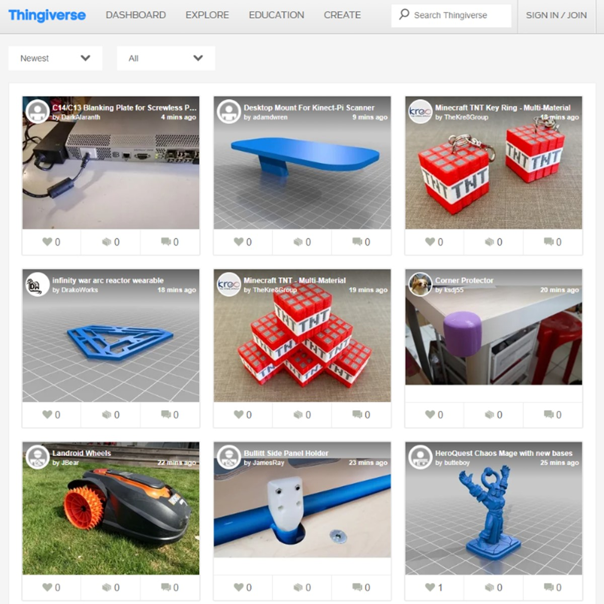 Thingiverse Alternatives and Similar Websites and Apps