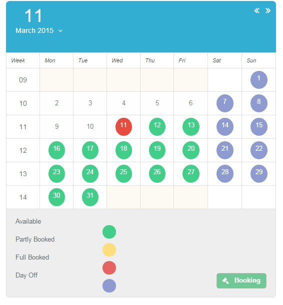 Calendar Booking System Php : Time slot booking calendar php alternatives and similar