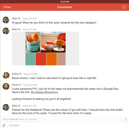 iPad: comments