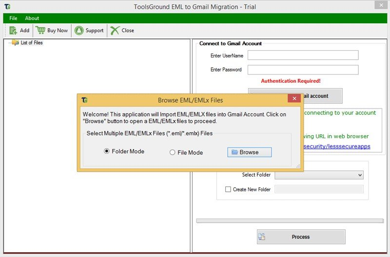 ToolsGround EML to Gmail Migration Alternatives and Similar