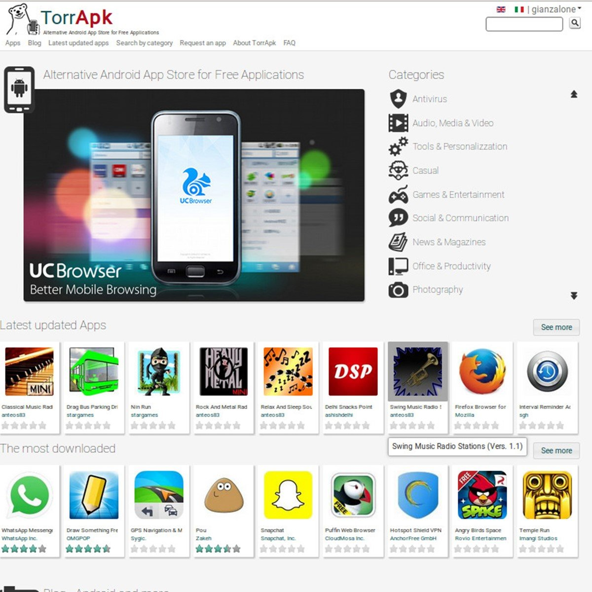 TorrApk Alternatives and Similar Websites and Apps