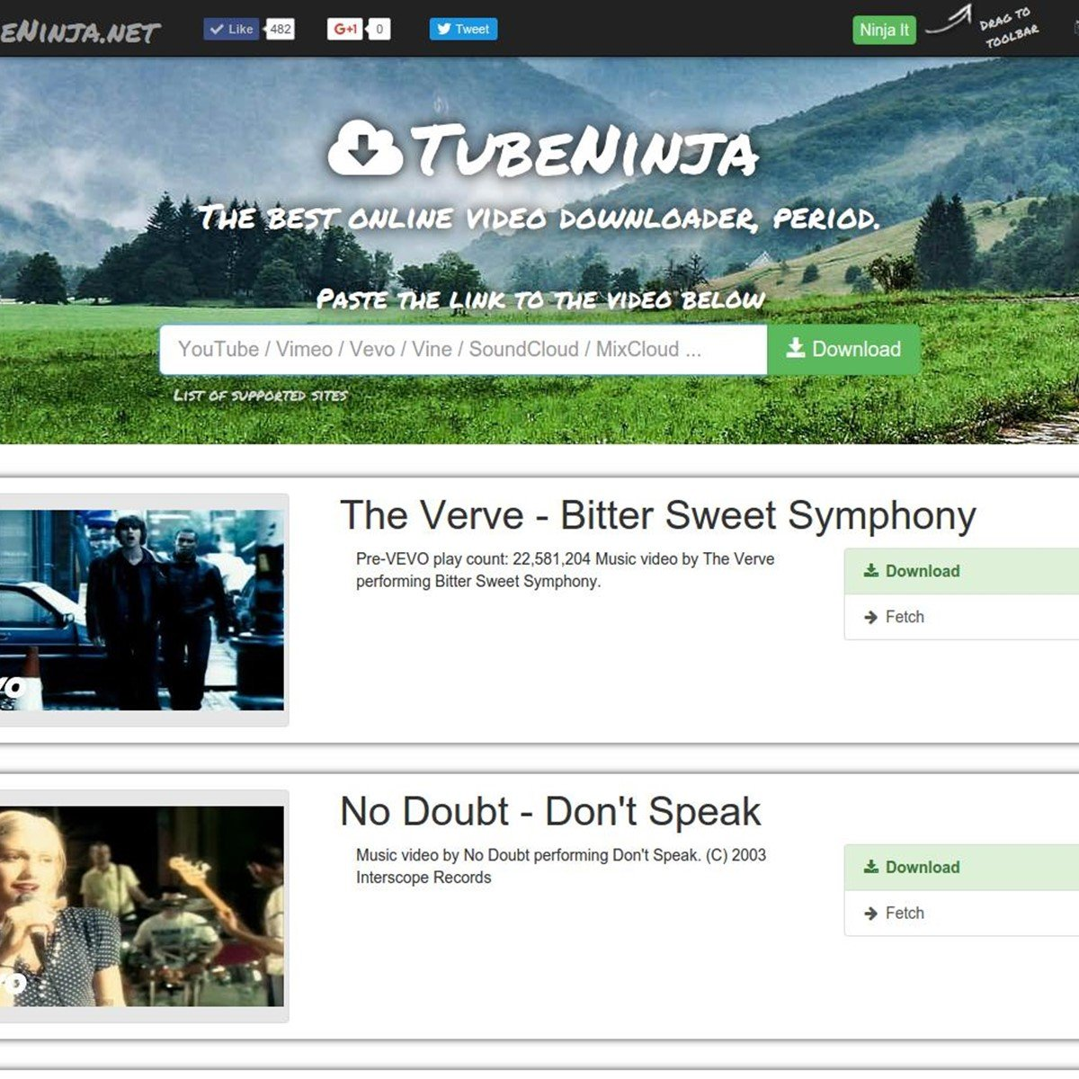 TubeNinja net Alternatives for Google Chrome - AlternativeTo net