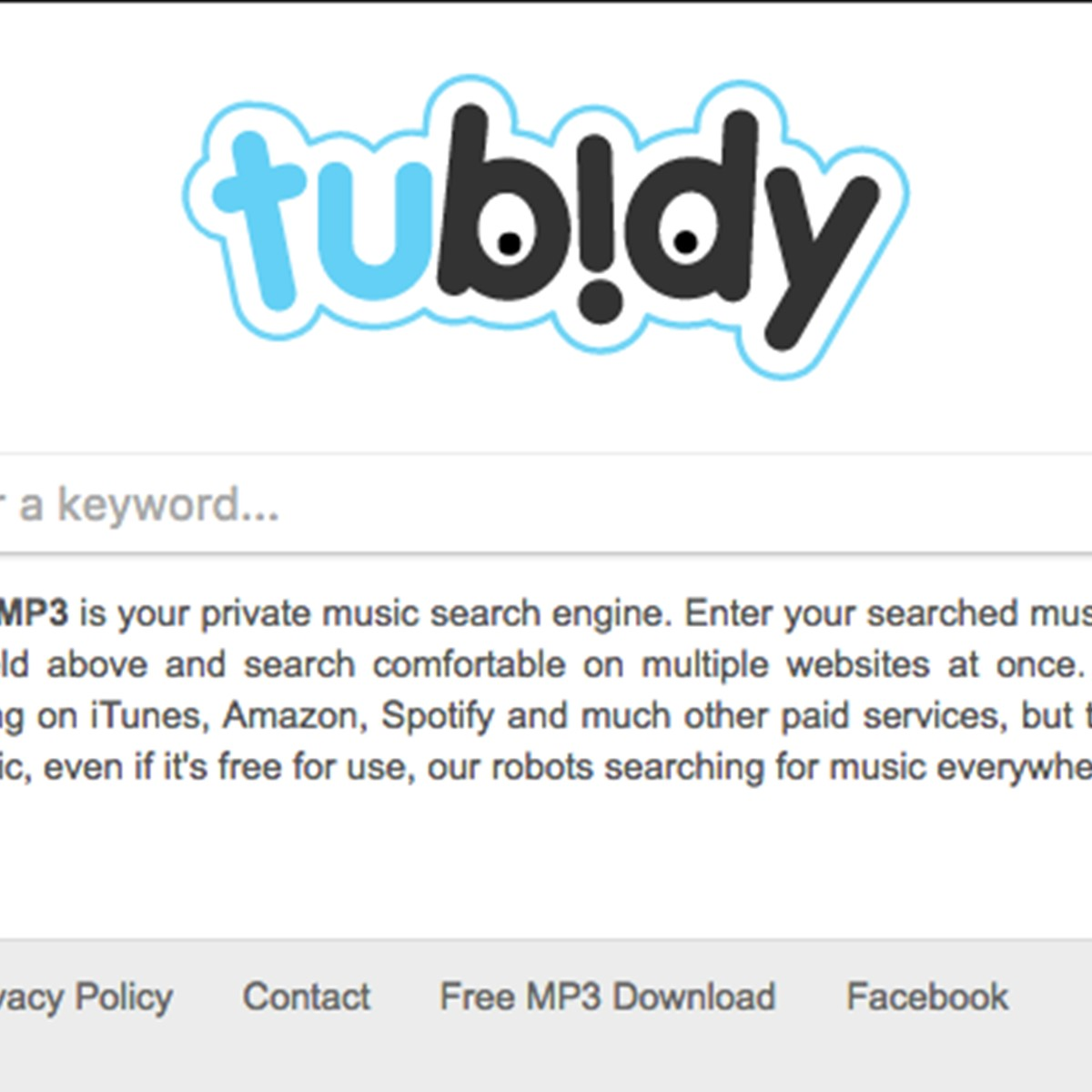 Tubidy mp3 alternatives and similar websites and apps alternativeto net