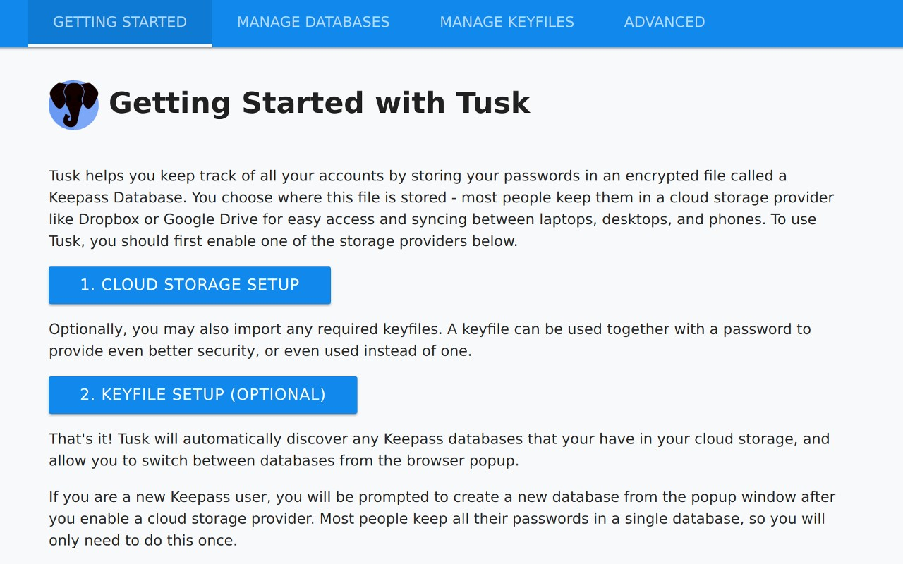 Tusk - Modern KeePass for the browser Alternatives and