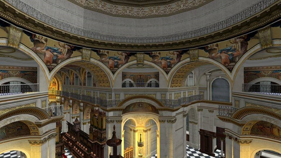 St. Pault's Cathedral 3D icon