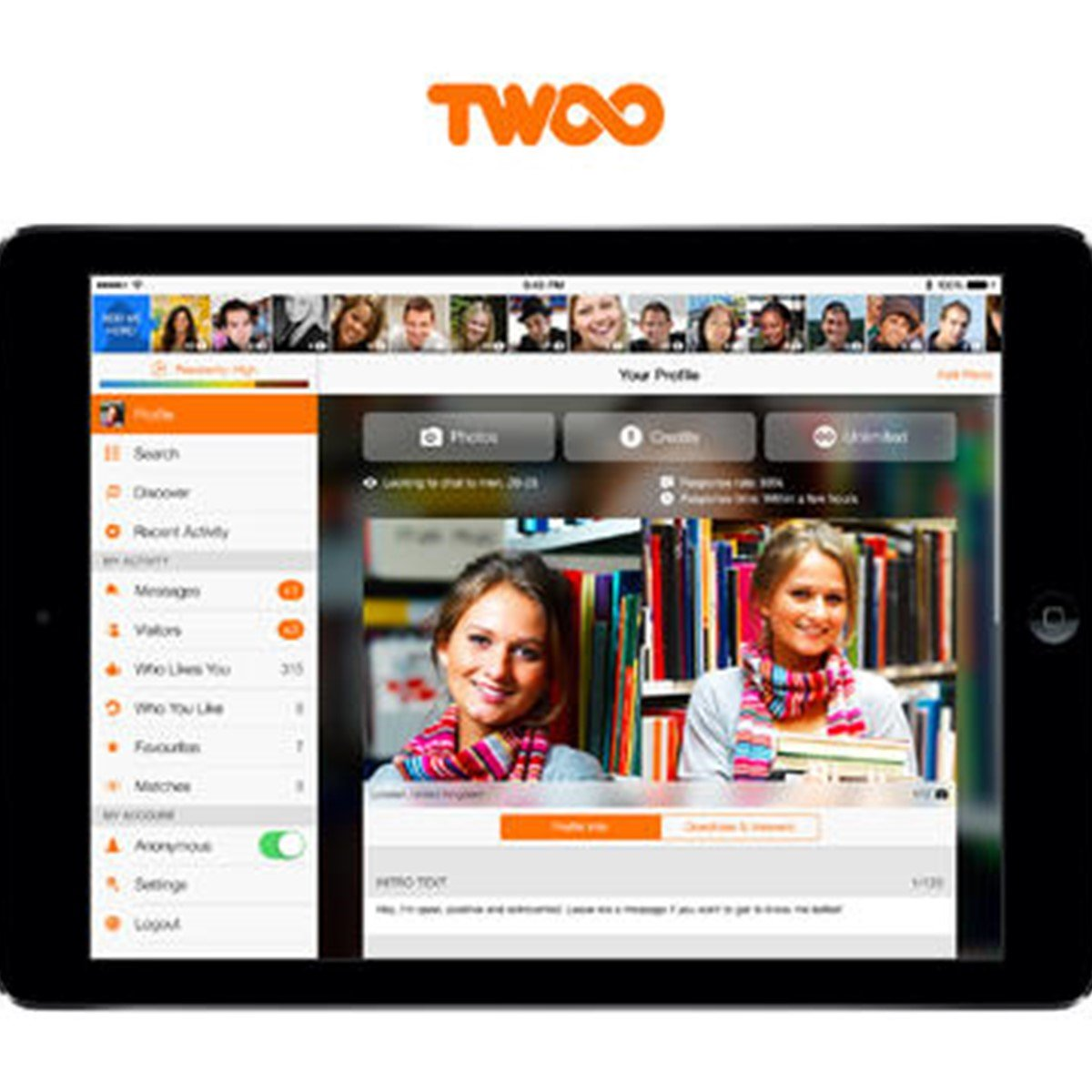 Twoo website