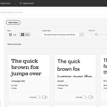 Adobe Fonts Alternatives and Similar Websites and Apps