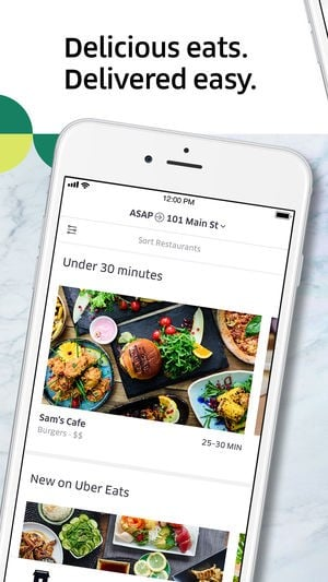 Uber Eats Alternatives and Similar Apps and Websites