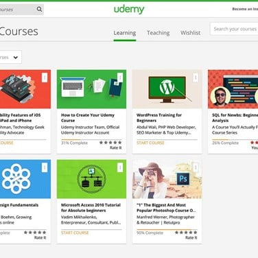 Udemy Alternatives and Similar Apps and Websites