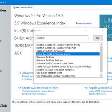Ultimate Windows Tweaker Alternatives and Similar Software