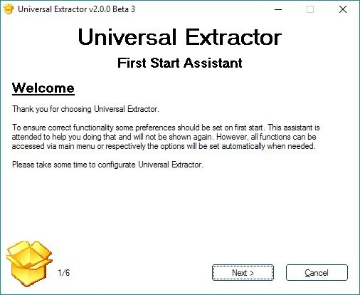 Universal Extractor 2 Alternatives and Similar Software